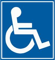 Panneaux handicap