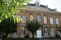 Photo de l'ancienne demeure abbatiale de Dieleghem