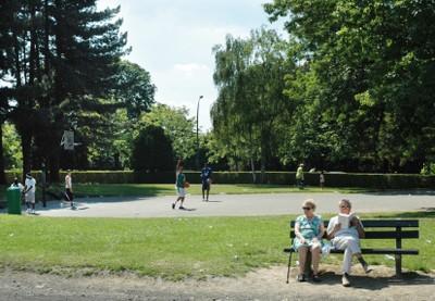 Photo du parc de la Jeunesse