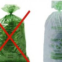 Enkel reglementaire groene zakken van Net Brussel toegelaten